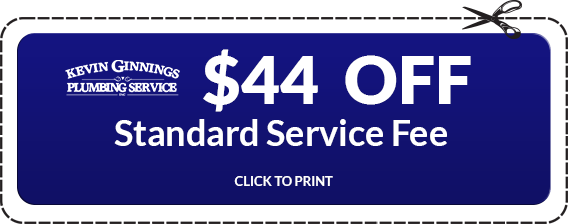 $44 Off on Standard Servicesby Kevin Ginnings Plumbing