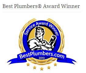 Best Plumber Award 2013